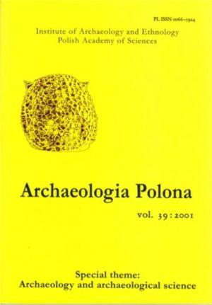Archaeologia Polona vol. 39